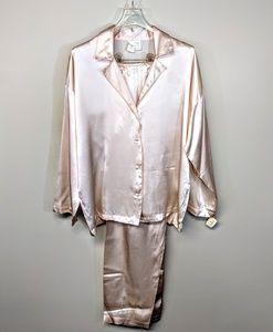 Victoria's Secret Silk Pajamas New w/Tags Vintage